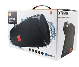 Wholesale Portable Metal Radio Box - Xtreme Protable bluetooth speaker Waterproof Xtreme wireless Subwoofer Stereo Speakers bluetooth Splashproof with retail Box