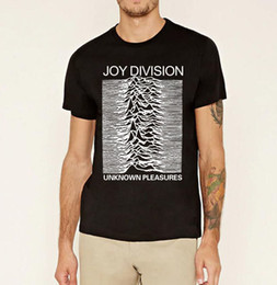 Wholesale Brand Joy - Wholesale- 2017 summer Joy Division Unknown Pleasure men's t-shirts Post Punk fahion funny brand clothing hip hop Male fitness top Tops tee