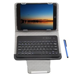 Wholesale Android Tablet Bluetooth Keyboard Case - Wholesale- 9 10 Inch Tablet Protective Case 3 In 1 Universal Wireless Bluetooth Keyboard Touch Control For Ios  Android   Windows