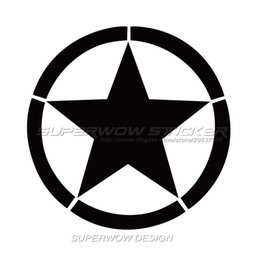 Wholesale War Heads - US Army World War II logo car stickers US Army logo personalized funny car stickers reflective car stickers