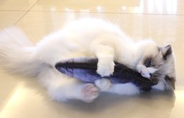 Wholesale Wholesale Bath Pillows - Mint fish cat toys tease cat toy fish cats pillow grass carp pet simulation plush cat fish toys