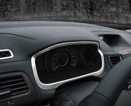 Wholesale Decorative Chrome Trim - for Honda CRV CR-V 2012 2013 2014 2015 2016 ABS Chrome Dashboard decorative frame cover Trim car styling