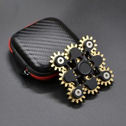 Wholesale Oem Toys - Newest Fidget Spinner 9 Gears Hand Toy High Speed With Tools Fingertips Spiral Fingers OEM ODM Accept