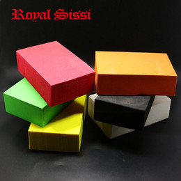"Wholesale Wholesale Fly Tying Materials - Wholesale- Hot 6colors Bigger Foam Blocks size 1,6""X4""X6"" super fine own shapeable foam thickness 4cm float foam bricks fly tying material"