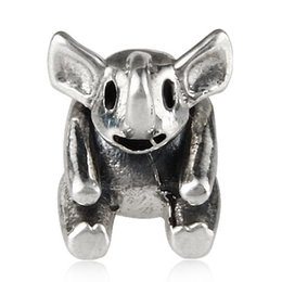 Wholesale Cute Koala Bears - China Supplier Loose Silver Beads Jewelry Making Cute Koala Bear Pandora Charm For Bracelet