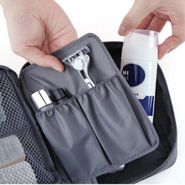 Wholesale Large Microfiber - A portable waterproof travel cosmetic bag for men's large capacity toiletries and toiletries