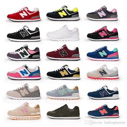 Wholesale Sport Comfort Sneakers - Hot Couples sneakers Fashion Boys and Girls Casual Shoes N Letter Lace-up Sport Shoes Comfort Sneakers Running Shoes Eur 35-44