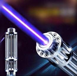 Wholesale High Lighter Pens - 2017 new light burning match High Power Laser Pointer Pen Strong Light Cigarette Lighter Shot Bird Blue laser pointer 450nm focus burning