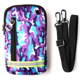 Wholesale Iphone Belt Loop Cases - For iPhone 7 7Plus Waist Bag Outdoors Sport Bag Universal Tactical Belt Loops Waist Pouch Military Camouflage Portable Pack