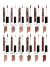 Wholesale Wholesale Brand Name Lipsticks - 2016 NYX LIP LINGERIE Charming Long-lasting Brand name Makeup NYX lips soft Matte Lip Cream Lipstick Lip Gloss 12 colors nude cosmetics