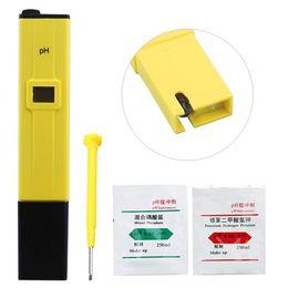 Wholesale Hydroponic Pen Ph Tester - Wholesale- FSLH-Pocket Pen Digital pH Meter Tester Hydroponic Aquarium