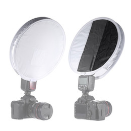 Wholesale Factory Functions - 12 Inch (31cm) Gray Card Portable Softbox Multi-function Diffuser for Speedlight Flashlight factory direct wholesale