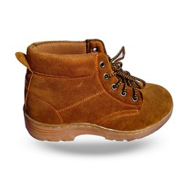 Wholesale Steel Shoe Safety - Men Casual Shoes Anti smashing Piercing proof Wear-resisting Protective shoes Men's Flat Camelhair Dichotomanthes bottom Shoe ankle boots