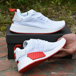 Wholesale Cheap High Tops Men - 2017 NMD R2 PK Primeknit BA7253 BA7252 High Quality Discount Cheap Boost for Men Women Top Quality Sneakers Running Shoes Size 36-45