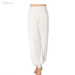 Wholesale Belly Dances Plus Size - Women Lady Harem Yoga Cotton Comfy Long Pants Belly Dance Boho Wide Trousers