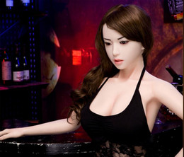 Wholesale Sexy Man Toys Girls - silicone asian oral sex dolls for men small Realistic sex dolls adult love silicone solid sexy doll toys dating girls best toys factory o