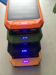 Wholesale Mobile Solar Charges - New 8000 millian encampment light solar mobile power source, the beach lights range rover charging treasure