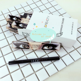 Wholesale Trade Easy - NEW selling foreign trade new beauty single head eyeliner does not bloom water and sweat lasting ZNS016 wholesale DHL FREE SHIP