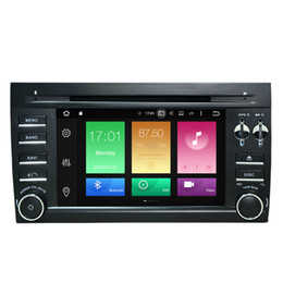 "Wholesale Cayenne Black - 7"" Android 6.0.1 Car DVD Auto Stereo For Porsche Cayenne 2003-2010 GPS Navi Radio RDS 2G RAM 32G ROM Octa-Core Mirror Screen BT 4.0 Touch"
