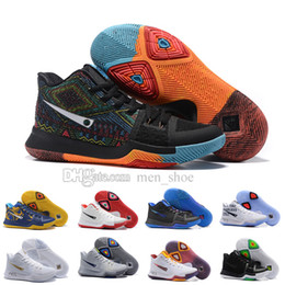 Wholesale Blue Ball Game - 20167New Arrival Kyrie Irving 3 Signature Game Basketball Shoes for Top quality Men's Sports Sports Training Basket ball Sneakers Size 40-46