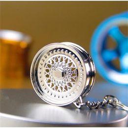 Wholesale Wholesale Wheel Lock Key - The new car manufacturers modified wheel metal keychain turbo Keychain hot