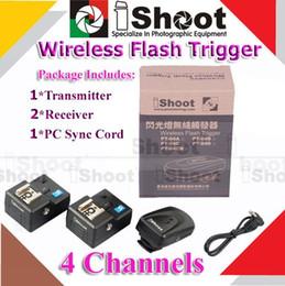 Wholesale radio photos - Wholesale-4 Channels Wireless Radio Flash Trigger Remote 1 Transmitter 2 Receivers for Photo Studio Strobe Light Speedlite Speedlight