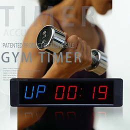 368ef5fe326 Compre GANXIN Premium LED Programável Intervalo Intervalo De Parede Timers  Gym Timers Com Controle Remoto Sem Fio. Tabata