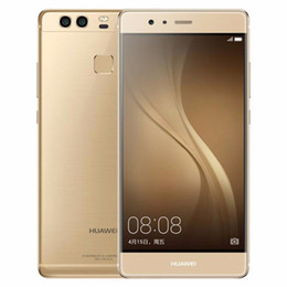 Wholesale Huawei Phone 4gb Ram - Refurbished Original Huawei P9 4G LTE 5.2 inch Kirin 955 Octa Core 3GB 4GB RAM 32GB 64GB ROM Dual Back 12MP Camera Dual SIM Smart Phone DHL