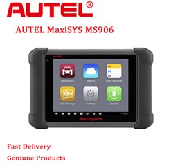 Wholesale Ecu Tools Software - 2017 New Profession Diagnostic Tool Autel MaxiSYS MS906 Android 4.0 BT WIF Automotive Diagnostic Scanner Update Online