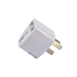 Wholesale New Zealand Charger - 2017 High Quality Universal Power Adapter Travel Adaptor 3 pin AU Converter US UK EU to AU Plug Charger For Australia New Zealand
