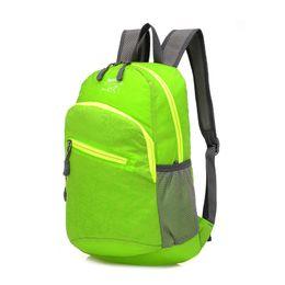Wholesale stylish bags for men - Wholesale- Brand Stylish Waterproof Men Women Lightweight Foldable Convenient Backpack School Backpacks for Girls Versatile Folding Bag