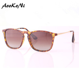 Wholesale Womens Polarized Sunglasses Designer - AOOKONI AK4187 New Designer Sunglasses Mens Womens Quality Brand Chris Sunglasses Black Sunglasses Polarized Lens 54mm Include Accessories