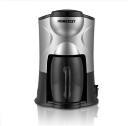 Wholesale Wholesale Drip Coffee - Household HOMEZEST Coffeepot Automatic Dripolator Mini Drip Type Coffee Maker American Single Glass Rotation Durable Safe Easy Cleann 48xg H