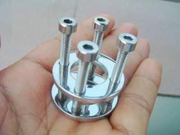 piercing keuschheitsgerät Rabatt Stahl männliche Keuschheits-Geräte erwachsener Hahn-Käfig mit dem Bogen-geformten Hahn-Ring BDSM Sex-Spielzeug-Knechtschaft-Stahlkörper piercing Schmuck fertigen besonders an