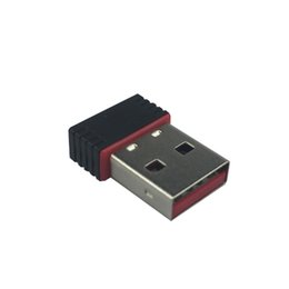 portátil pi frambuesa Rebajas Al por mayor- 2.4G Adaptador Wifi 150Mbps Wireless USB 2.0 Wifi Dongle Network NANO Adaptador de tarjeta para Raspberry Pi 3 2 PC Laptop para Orange Pi