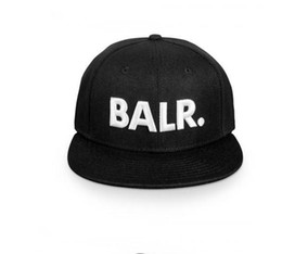 Wholesale Leather Cap Woman - 2017 hats for Men&Women balr New Arrival Balred caps leather buckle PU metal adjustbale buckle Baseball sport Cap Hip Hop hat