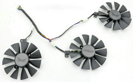 Wholesale Graphics Cards Asus - New Original Everflow 88MM T129215SU PLD09210S12HH Replacement For ASUS strix Raptor GTX980Ti R9 390X R9 390 RX 480 Graphics Video Card Fan