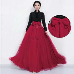 Wholesale Cheap Ladies Winter Dresses - Cheap wholesale lady skirt Europe and the United States 2017 fashion Jacobs Maxi Dress7 color Ladies fashion party dress