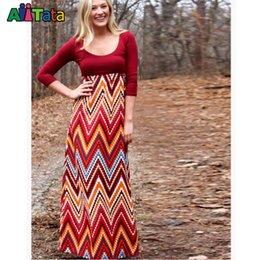 Wholesale Multicolored Skirt - Mommy and me fashion Family matching outfits mother daughter dresses Mommy Girls MultiColored Aztec Maxi Skirt family look