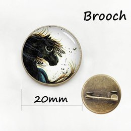 Wholesale Best Deals Wholesale Jewelry - Best Deals Ever dog silhouette brooches supernatural hunter hound metal pin Limited Romantic Dachshund Horse badge jewelry