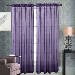 Wholesale Vogue Living Rooms - Tamayura Vogue Window Screen Curtains Door Room Curtain Drapes Home Decor voile curtain Window Treatments sheer curtains