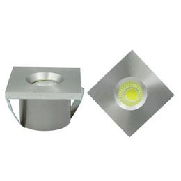 Wholesale Exhibition Display Lights - Wholesale- 10pcs Lot Mini COB 3W Led Downlight Led Recessed Cabinet Spot light Jewelry exhibition Display Counter lamp AC110V 220V
