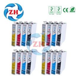 Wholesale Epson Sx125 Inks - 16 PCS ink cartridges T1281 T1282 T1283 T1284 T1285 Compatible for Epson SX230 SX125 SX130 SX235W SX420 SX425 Printer