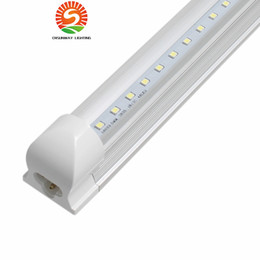 2019 luces led tubo de 2 pies 1ft 2ft 3ft 4ft 5ft 6ft 8ft T8 Led Tubes Light 18W 22W 28W 36W 45W Lámpara de tubo fluorescente LED integrada AC 110-240V rebajas luces led tubo de 2 pies