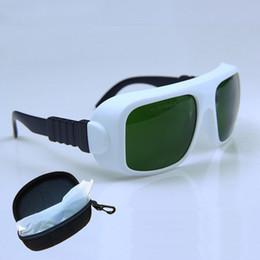 2019 gants à micro-courant Lunettes de sécurité laser Lunettes 755 808 1064nm Nd: yag Lunettes de protection laser pour les yeux Lunettes Sécurité médicale au laser