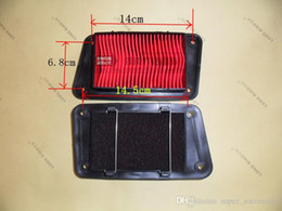 Wholesale Spare Parts For Motorcycles - Aftermarket Motorcycle Spare Parts Air Filter for GY6 125CC Scooter Tao Tao Air Intake System-Paper Core