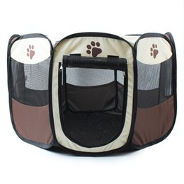 Wholesale Blue Dog Kennels - Mascotas House Dog Beds for Large Dogs Oxford Kennel Canvas Nest Dog Bed Free Shipping