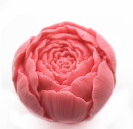 All'ingrosso fiore di rosa Silicone fondente pizzo Stampo 3D Sapone Candela Cioccolato Candy decorazione della torta Polymer argilla cottura fai da te da