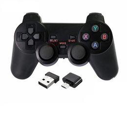 Controlador inalámbrico de juegos Bluetooth para PlayStation 3 Controlador de juegos PS3 Gamepad Joystick para juegos de video de Android Colores con caja de venta desde fabricantes