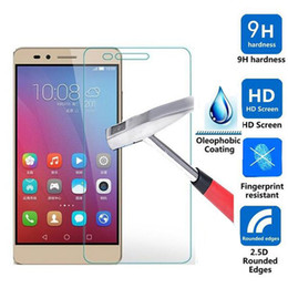 Wholesale Cover For Huawei Ascend P6 - Wholesale-Tempered Glass Screen Protector for Huawei Ascend P9 Lite Plus P8 Lite P6 P7 Toughened Glass Cover Protective Film